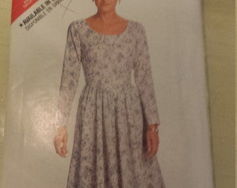 Butterick See & Sew Misses Dress  Pattern 6057 Size 12, 14, 16 Uncut
