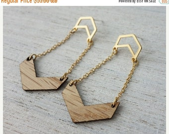 Sale 20% OFF Nord Post Earrings, Scandinavian design, geometric element