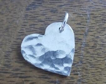 Solid Valentine Heart Pendant