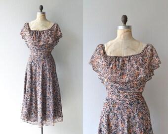 Best in Bloom dress | vintage 1970s floral dress | floral print 70s dress