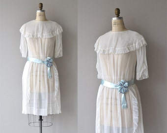 Petit Trésor dress | vintage 1920s dress | cotton voile 20s dress