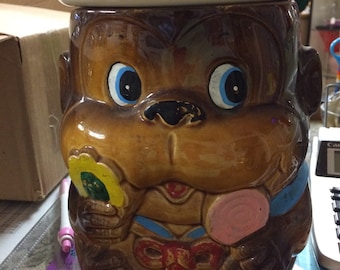 Monkey cookie jar
