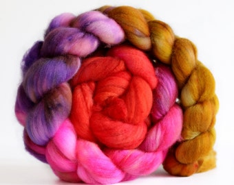 Flashback 4 oz Merino softest 19.5 micron Roving Top for spinning