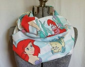 MOVING SALE Little Mermaid Ariel Infinity Scarf