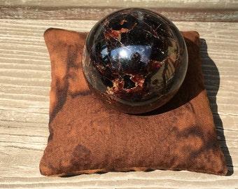 Earth Star Chakra Pillow - Earth Star Chakra - Chakra Pillow - Altar - Crystal Healing - Reiki - Crystal Grids - Altar Tools - SMALL - PLAIN