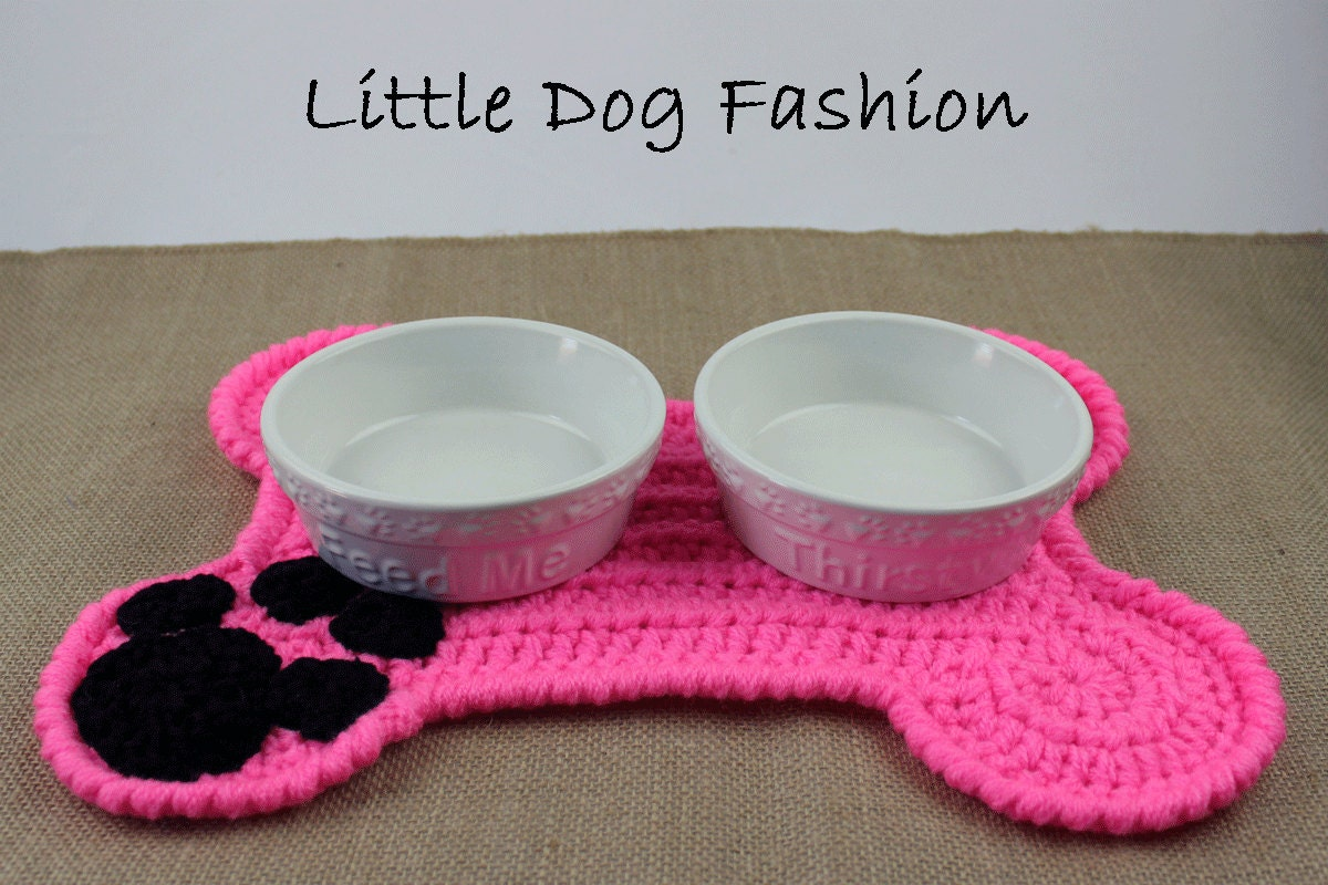 Feeding mat for dog placemat for dog unique dog gift dog for Unusual dog gifts