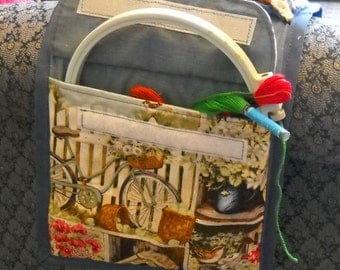 Home Town Summer Sewing Caddy, Sewing Organizer