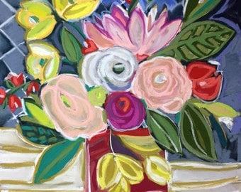 Jamie's Blooms Floral Giclee