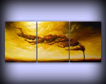 art original painting abstract painting acrylic painting wall art wall hanging modern art canvas home decor landscape painting 28 x 66