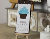 Cupcake 2016 Calendar - PRE ORDER