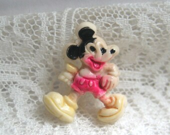 Older Mickey Mouse Realistic Clothing Button
