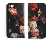 Leather iPhone 6 case, iPhone 6s Case, iPhone 6s Plus Case - A Dutch Spring Folio Style