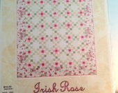 Iris Rose quilt pattern by Late Bloomer Quilts