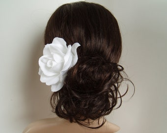 Wedding Hair Accessory Ivory Wedding Hair Flowers Wedding Hair Piece Bridal Hair Accessories Bridesmaids Gift - READY TO SHIP