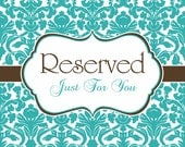 RESERVED for Marcy