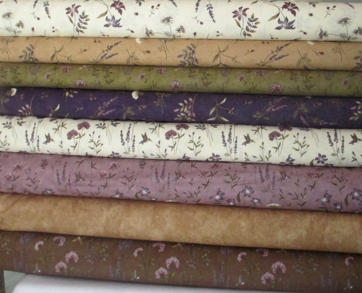 The Potting Shed Half Yard Fabric Bundle Moda Holly Taylor