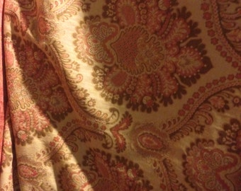 SALE  Tapestry Chenille Upholstery Fabric by the yard