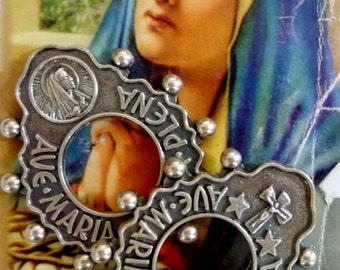 Vintage Our Lady of Fatima Metal Tokens - Originally From Fatima, Portugal
