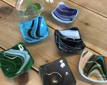 Sushi Dish / Bowl  Fused Glass