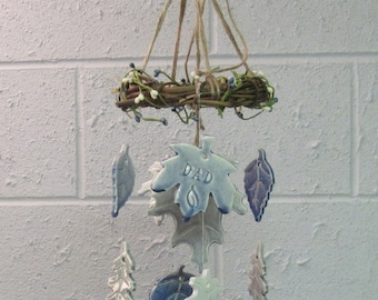 In Memory Memorial Wind Chime Personalized