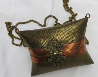An Antique Petite Pillow Evening Bag