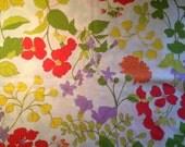 Flower Power Full Sized Flat Sheet by Wamsutta