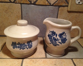 Yorktown Cream and Sugar Set by Pfaltzgraff