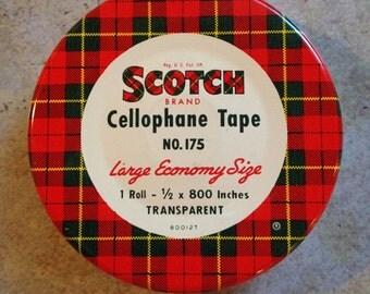 Scotch Tape Tin Box