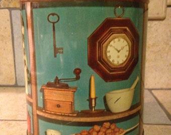 Early Americana Coffee Tin