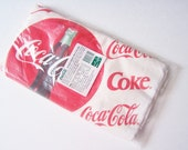 Vintage Coca Cola Ground Cover, Paper Picnic Blanket, Tablecloth, Retro Coke Decor, Camping Accessory, Outdoor Coke Cover, Camping Item