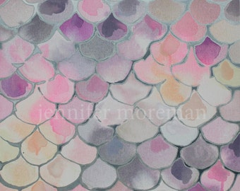 Giclee Print Orchard Lagoon by Jennifer Moreman