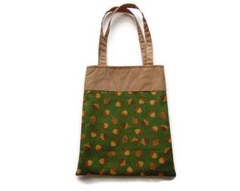 Fabric Gift/Goodie Bags - Acorns