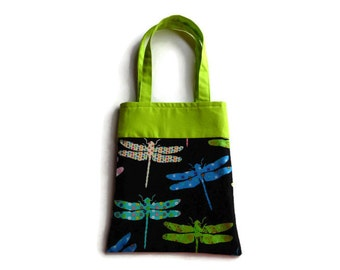 Dragonfly - Goodie Bag - Gift Bag - Mini Tote