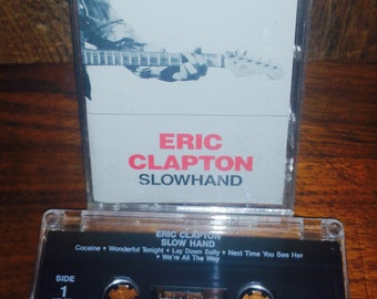 Eric ClaptonSlowhand Vintage Cassette Tape