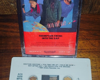 Thompson Twins Into The Gap Vintage Cassette Tape