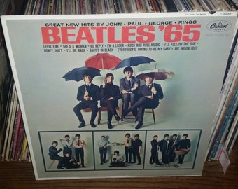 Beatles 65 Vintage Vinyl Record