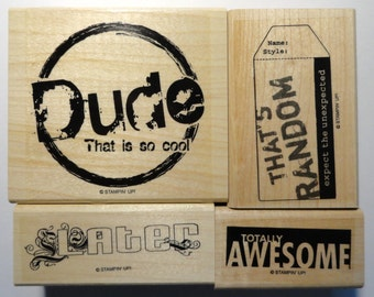 Stampin' Up! Rubber Stamp So Cool