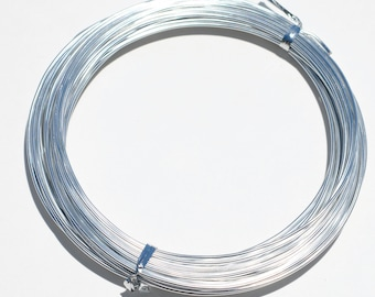 Silver Aluminum Craft Wire 10Meters  F446