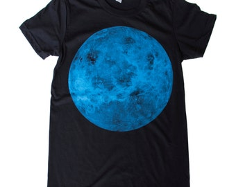 Womens VENUS planet t-shirt S M L Xl xxL (Black)