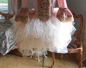 Pink cupcake mini marie Antoinette night circus Victorian inspired rococo costume top and tulle skirt