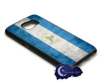 Nicaraguan Flag Case for the Samsung Galaxy S Models