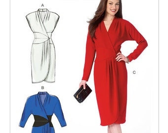 Misses' Dresses - McCalls 6986 - Out of Print Sewing Pattern, Sizes 16, 18, 20, 22, and 24