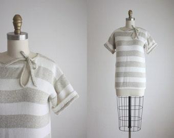 striped longline tunic