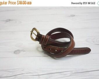 VACATION SALE. vintage leather belt