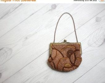 VACATION SALE. 1920s beaded pocket purse