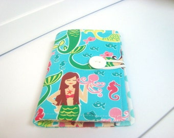 Bi-Fold Crayon Tote On The Go - Mermaids