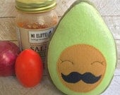 Plush Avocado Stuffed Toy