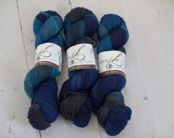 Aspen Sock yarn with nylon 'Colleen's Summer Storm'