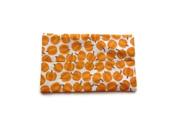 Fabric Tissue Holder - Pumpkins