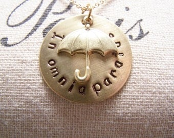 In Omnia Paratus Necklace.G. Ready For Anything: Gilmore Girls. Rory. Logan. Life and Death Brigade